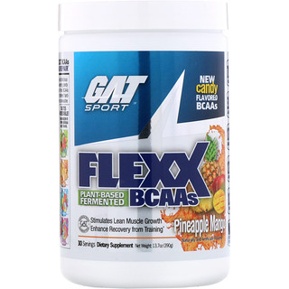 GAT, Flexx BCAAs, Pineapple Mango, 13.7 oz (390 g)