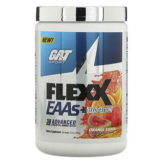 GAT, Flexx EAAs + Hydration, Orange Guava, 12.2 oz (345 g)
