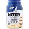 GAT, Nitra Whey, Testosterone Support Shake, Vanilla Ice Cream, 1.91 lb (866.4 g)