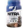 GAT, Nitra Whey, Testosterone Support Shake, Chocolate Ice Cream, 2.17 lb (984.3 g)