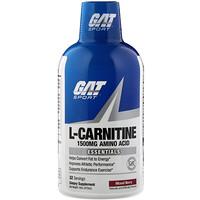 GAT, Liquid L-Carnitine, Mixed Berry, 1500 mg, 16 oz (473 ml)