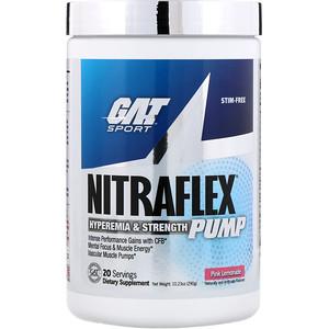 ГАТ, Nitraflex Pump, Pink Lemonade, 10.23 oz (290 g) отзывы