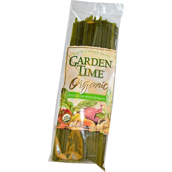 GAT, Fettuccini With Spinach, 10 oz (284 g) (Discontinued Item)