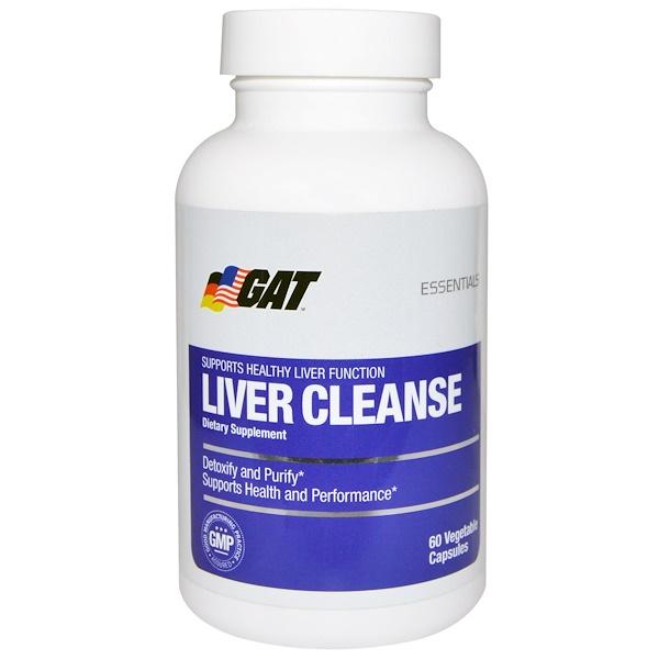 GAT, Liver Cleanse, 60 Veggie Caps