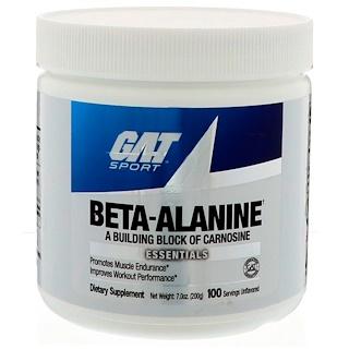 GAT, ベータアラニン、 無香、 200 g