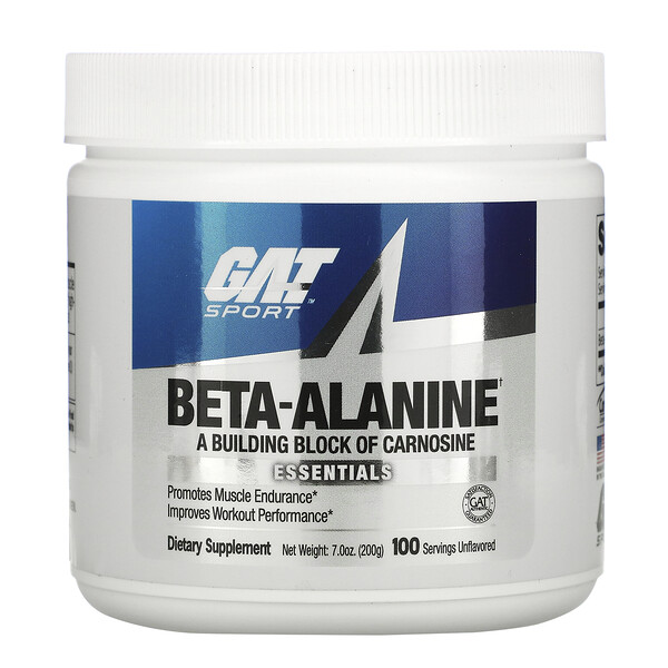 Beta Alanine, Unflavored, 7.0 oz (200 g)