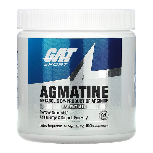 Agmatine, Unflavored, 2.6 oz (75 g)