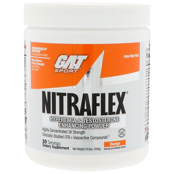 NITRAFLEX, Orange, 10.6 oz (300 g)