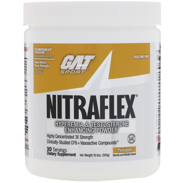 NITRAFLEX, Pineapple, 10.6 oz (300 g)