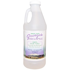 George's Aloe Vera, 100% アロエベラ液汁、32 液量オンス (.94 l)