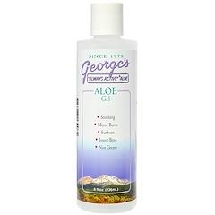George's Aloe Vera, アロエジェル, 8 液量オンス (236 ml)