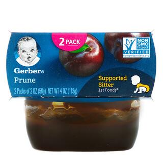 Gerber, Prune, 2 Pack, 2 oz (56 g) Each