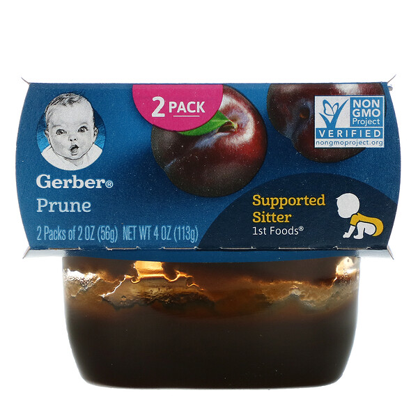 Prune, 2 Pack, 2 oz (56 g) Each