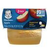 Gerber, リンゴ、2個、各56g(2オンス)