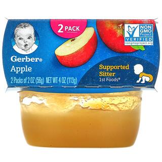 Gerber, Apple, 2 Pack, 2 oz (56 g) Each