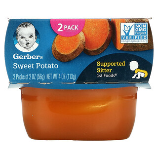 Gerber, Sweet Potato, 2 Pack, 2 oz (56 g) Each