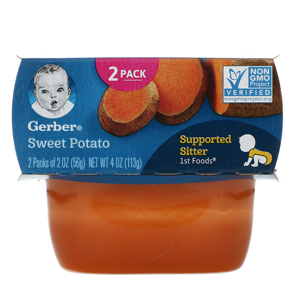 Sweet Potato, 2 Pack, 2 oz (56 g) Each