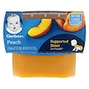 Gerber, 1st Foods, Peach, 2 Pack, 2 oz (56 g) Each