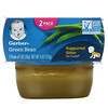 Gerber, Green Bean, 2 Pack, 2 oz (56 g) Each