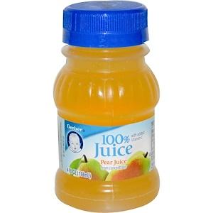 Гербер, 100% Juice, Pear, 4 fl oz (118 ml) отзывы покупателей