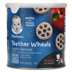 Гербер, Teether Wheels,  8+Months, Apple Harvest, 1.48 oz (42 g) отзывы покупателей