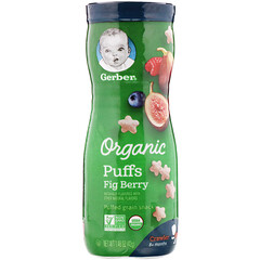 Gerber, Organic Puffs, Fig Berry, 1.48 oz (42 g)