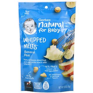 Gerber, Whipped Melts, Banana Pear, 10+ Months, 1.0 oz (28 g)