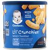 Gerber, Lil' Crunchies,  8+ Months, Mild Cheddar, 1.48 oz (42 g)
