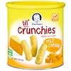 Gerber, Lil' Crunchies, Crawler, Mild Cheddar, 1.48 oz (42 g) (Discontinued Item)