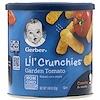 Gerber, 歩く前の赤ちゃん、小さなカリカリスナック、ガーデントマト、1.48 oz (42 g)
