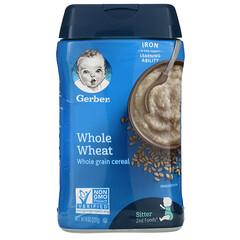 Gerber, Whole Wheat,全穀麥片,8 盎司(227 克)