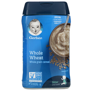 Gerber, Whole Wheat Cereal, 8 oz (227 g)