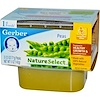 Gerber, 1st Foods, NatureSelect,  Peas, 2 Pack, 2.5 oz (71 g) Each