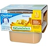 Gerber, 1st Foods, NatureSelect, Bananas, 2 Pack, 2.5 oz (71 g) Each