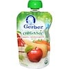 Gerber, 2nd Foods, Organic Baby Food, Apples, Carrots & Squash, 3.5 oz (99 g)