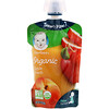 Gerber, 2nd Foods, Organic Baby Food, Apples & Summer Peaches, 3.5 oz (99 g)