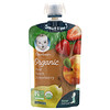 Gerber, Smart Flow, Organic, Pear, Peach, Strawberry, 3.5 oz (99 g)