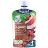 Gerber, 2nd Foods, Organic, Apple, Raspberry, Acai Berry, 3.5 oz (99 g)