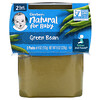 Gerber, Natural For Baby, Green Bean, Sitter, 2 Pack, 4 oz (113 g) Each