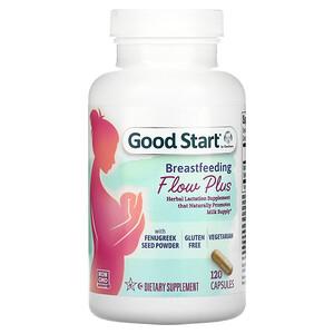 Gerber, Good Start, Breastfeeding Flow Plus with Fenugreek Seed Powder, 120 Capsules