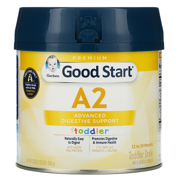 Gerber, Good Start, A2, Toddler Drink, 12 to 24 Months, 20 oz (566 g)