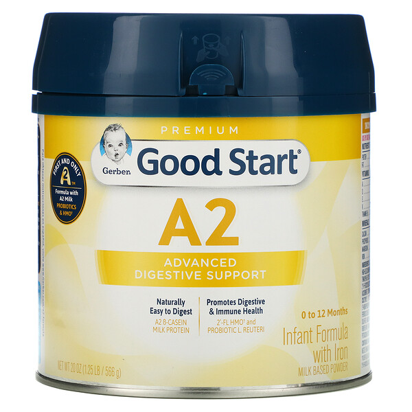 Good Start, A2, Infant Formula with Iron, 0 to 12 Months, 20 oz (566 g)
