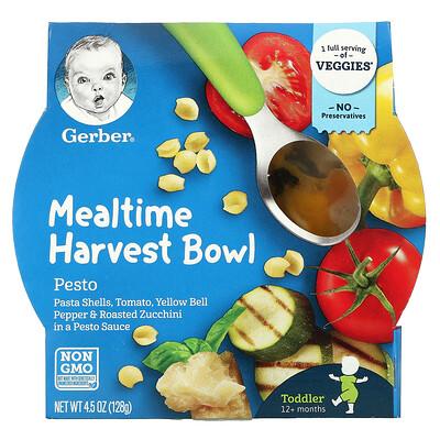 Gerber Mealtime Harvest Bowl, Toddler, 12+ Months, Pesto, 4.5 oz (128 g)