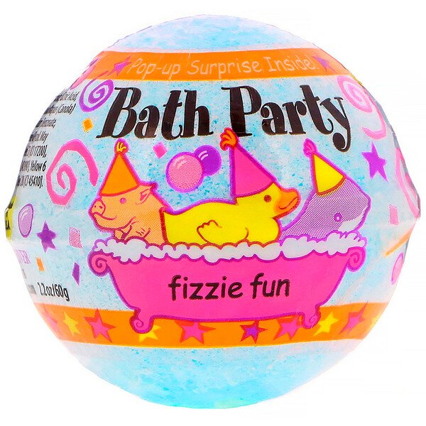 Bath Party Fizzie Fun, 2.2 oz (60 g)