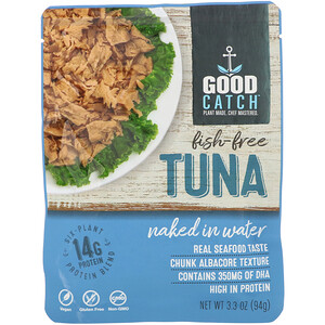 Good Catch, Fish-Free Tuna, Naked In Water, 3.3 oz (94 g) отзывы
