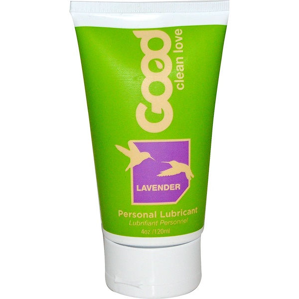 Good Clean Love, Lavender Personal Lubricant, 4 oz (120 ml) (Discontinued Item)