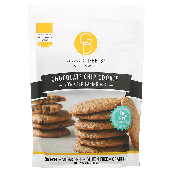 Good Dee's, Low Carb Baking Mix, Chocolate Chip Cookie, 8 oz (228 g)