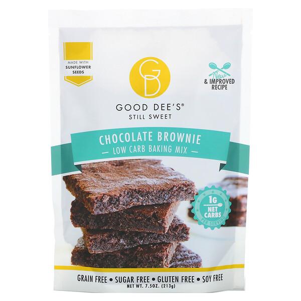 Low Carb Baking Mix, Chocolate Brownie, 7.5 oz (213 g)