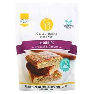 Good Dee's, Low Carb Baking Mix, Blondies,  8 oz (227 g)