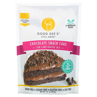 Good Dee's, Low Carb Baking Mix, Chocolate Snack Cake, 7.3 oz (207 g)